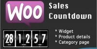 Sales woocommerce countdown