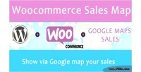Sales woocommerce map