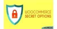 Secret woocommerce options