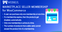 Seller marketplace membership woocommerce for plugin
