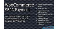 Sepa woocommerce payment gateway
