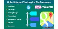 Shipment order woocommerce for tracking