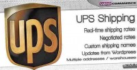 Shipping ups woocommerce for method
