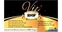 Shop vip advanced plugin vip woocommerce