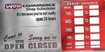 Shop woocoomerce scheduler
