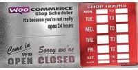 Shop woocoomerce scheduler