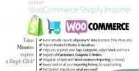 Shopify woocommerce importer