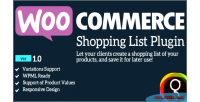 Shopping woocommerce product list