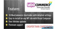 Shortcode woocommerce extender composer visual for