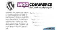 Shortcodes woocommerce categories by products