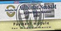 Sim authorize.net payment woocommerce for gateway