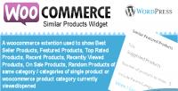 Similar woocommerce widget products category