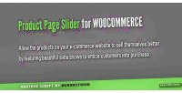 Slider product commerce woo for