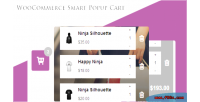Smart woocommerce popup ajax cart cart to add