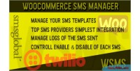 Sms woocommerce manager wsms