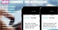 Sms woocommerce notifications