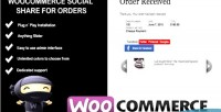 Social woocommerce orders for share