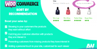 Sort woocommerce by recommendation