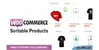 Sortable woocommerce products