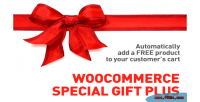Special woocommerce gift plus
