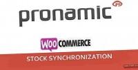 Stock woocommerce synchonization