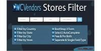 Store wcvendors filter