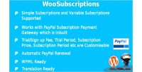 Subscriptions woosubscriptions for woocommerce