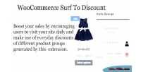 Surf woocommerce to discount