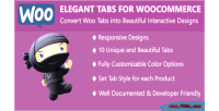 Tabs elegant for woocommerce