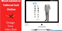Tailored woocommerce suit online