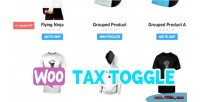 Tax woocommerce toggle