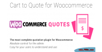 To cart woocommerce for quote