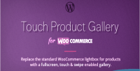 Touch fullscreen product woocommerce for gallery