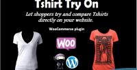 Try tshirt on