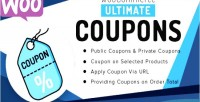 Ultimate woocommerce coupons