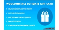 Ultimate woocommerce gift card
