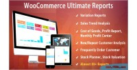 Ultimate woocommerce reports
