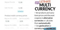 Ultimate woocommerce suite currency multi