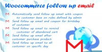 Up follow woocommerce for email