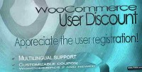 User woocommerce discount