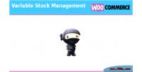 Variable woocommerce stock management