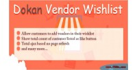 Vendor dokan wishlist