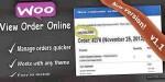 View woocommerce link online order