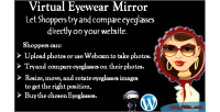 Virtual eyewear try on plugin woocommerce