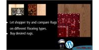 Virtual rugs floors on try