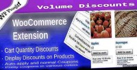 Volume woocommerce discount coupons