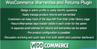 Warranties woocommerce & returns