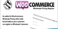 Wholesale woocommerce pricing register