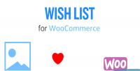 Wishlist woocommerce