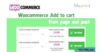 Woocommerce add to cart from any post & page